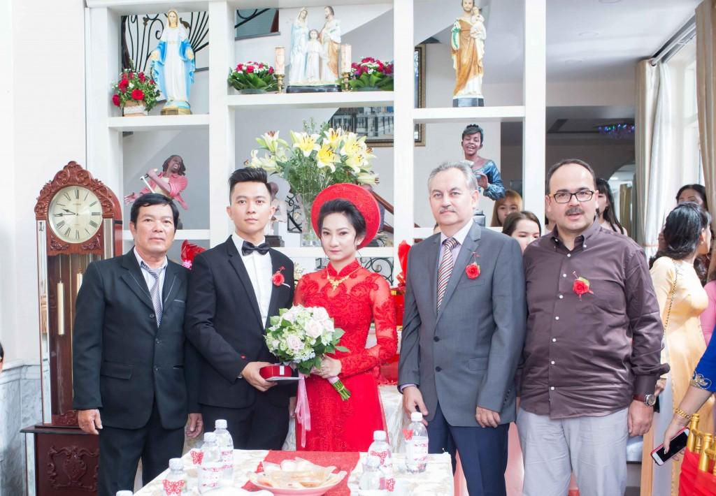 Chụp hình cưới truyền thống của Thanh Tùng - Ngọc Trân năm 2018